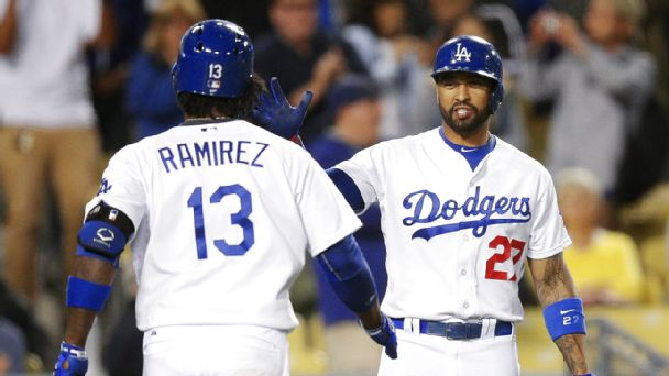 Hanley Ramirez and Matt Kemp