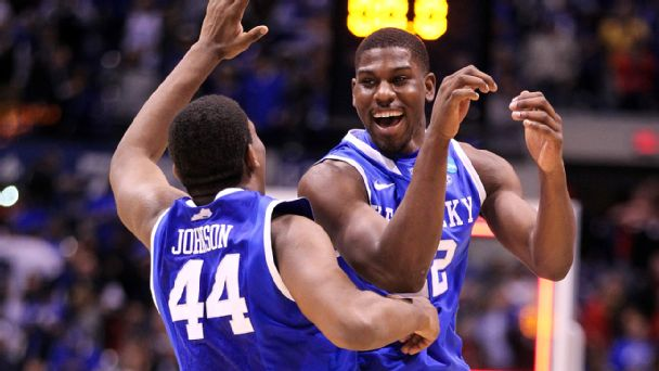 Dakari Johnson and Alex Poythress
