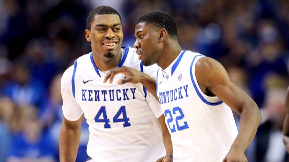 Dakari Johnson, Alex Poythress
