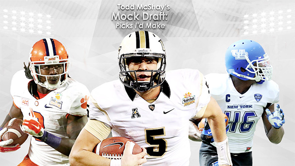 Todd McShay's Mock Draft Illustration
