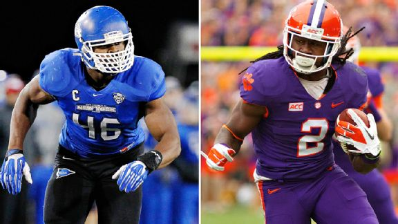 McShay OK with Mack or Watkins at No. 3