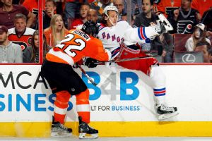 Carl Hagelin, Luke Schenn