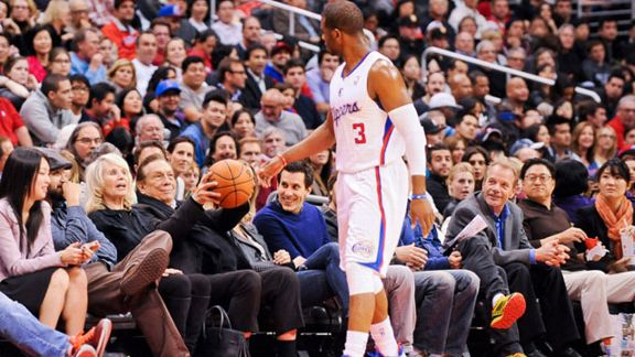 Chris Paul #3 of the Los Angeles Clippers
