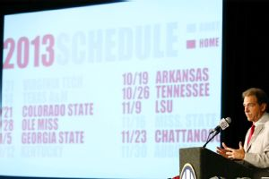 Alabama schedule