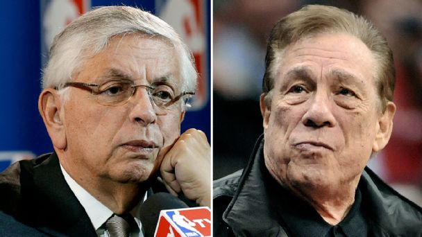 David Stern and Donald Sterling
