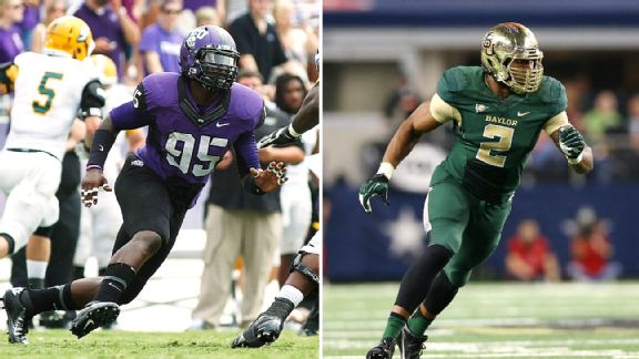 Devonte Fields, Shawn Oakman