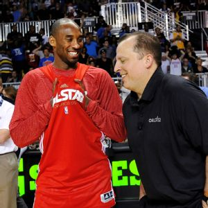 Kobe Bryant and Tom Thibodeau