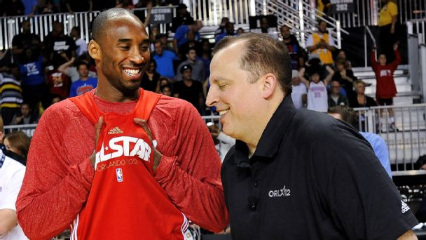 Kobe Bryant and Tom Thibodeau