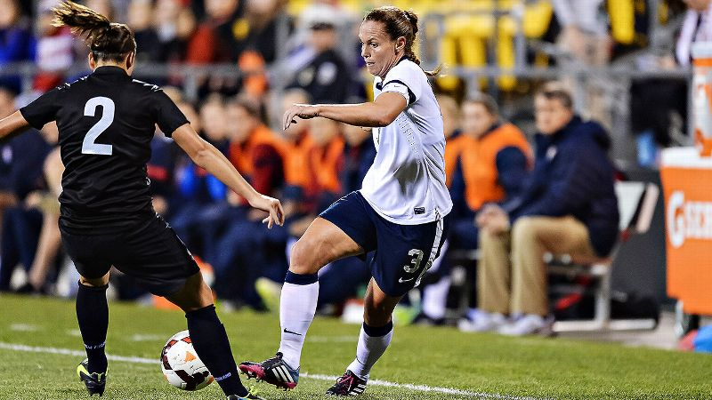After 18 years playing pro soccer, Christie Rampone knows the struggles -- and also the joys -- of a new pro league.