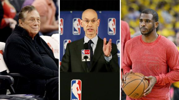 Adam Silver, Donald Sterling, Chris Paul