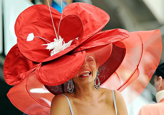 Derby Hat - Big Red