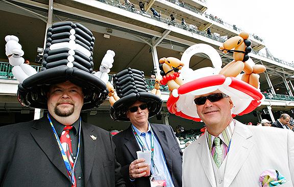 Derby Hat - Balloons