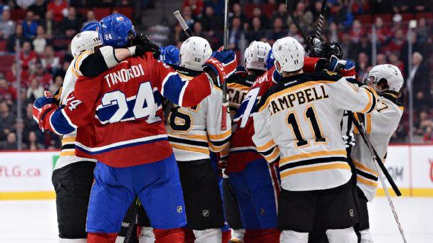 Bruins/Canadiens