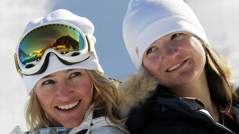Kelly Clark and Gretchen Bleiler have known each other since a rookie camp 15 years ago.