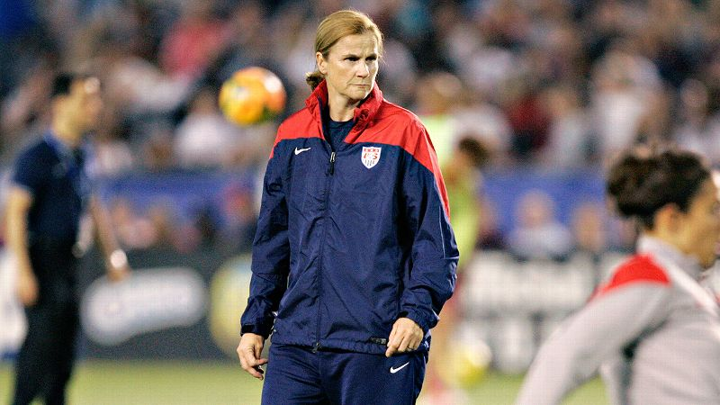 Jill Ellis was named U.S. women's soccer head coach on Friday. She has experience at every level of the program and becomes the eighth USWNT head coach in its history.