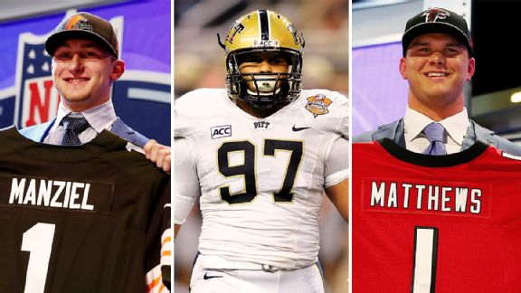 Johnny Manziel, Aaron Donald, Jake Matthews