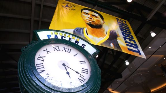 Pacers clock