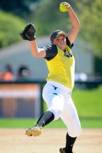 The pitching of Cheridan Hawkins is a big reason, but hardly the only reason, the Ducks are in the WCWS.