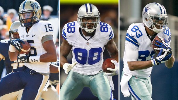 Devin Street, Dez Bryant, and Terrance Williams