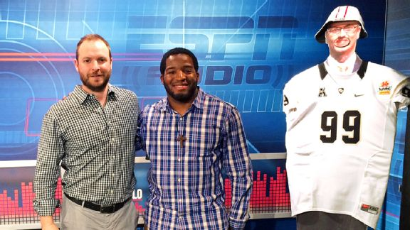 Ryen Russillo and Alfred Morris