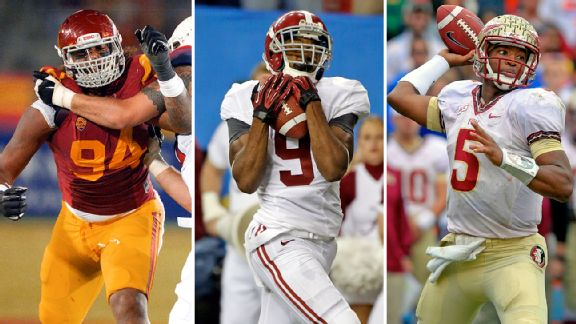 Leonard Williams, Amari Cooper, and Jameis Winston.