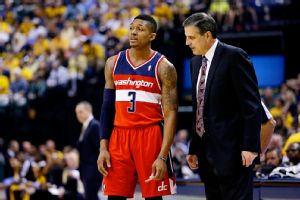 Bradley Beal and Randy Wittman