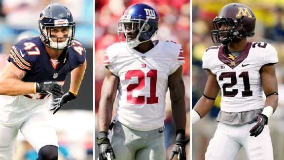 Chris Conte, Ryan Mundy, Brock Vereen