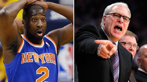 Raymond Felton and Phil Jackson
