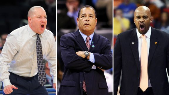 Buzz Williams, Kelvin Sampson, Cuonzo Martin