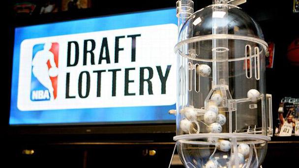NBA lottery machine