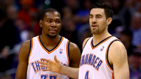 Kevin Durant, Nick Collison