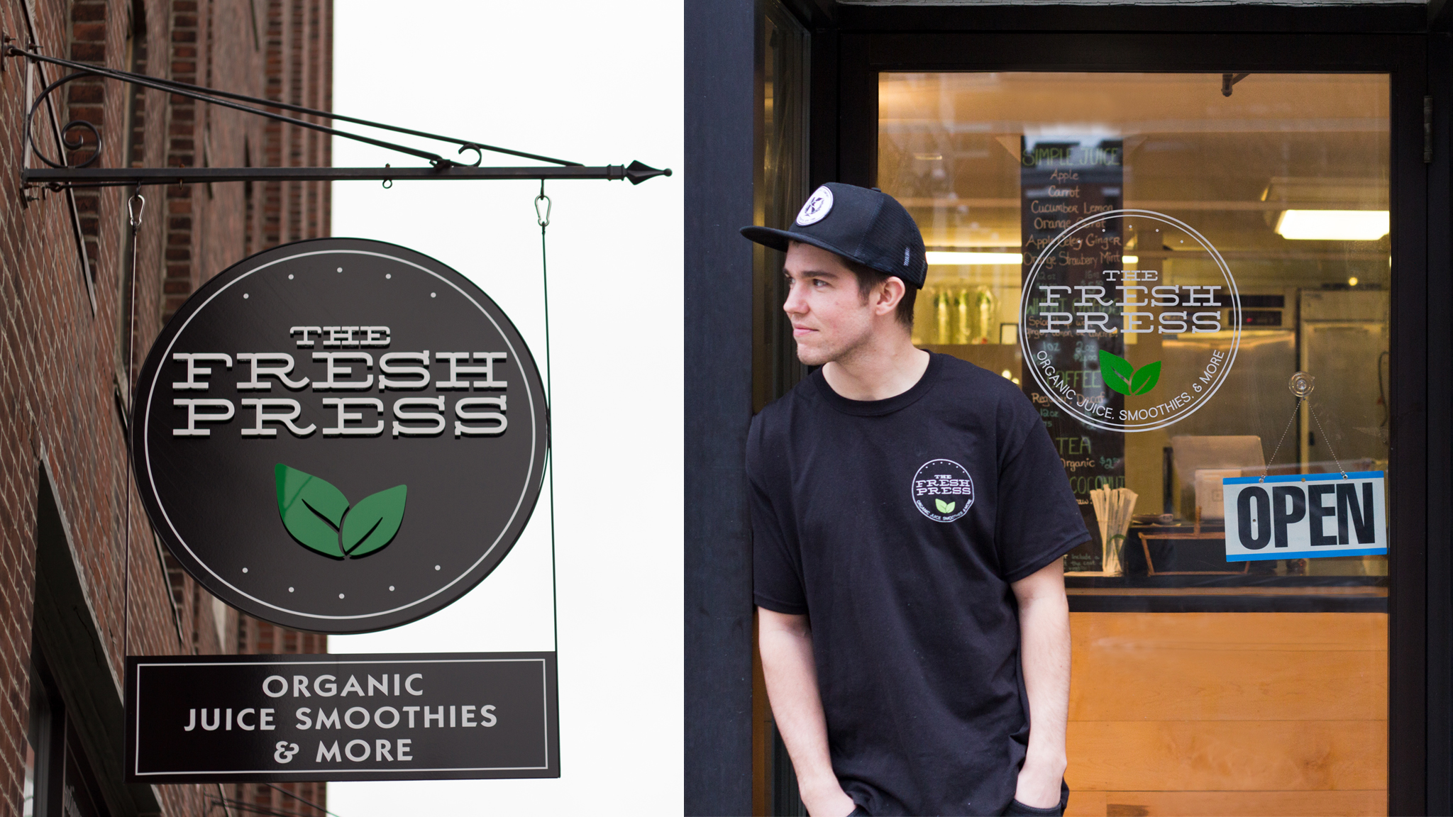 Aaron Smith and Fresh Press Juice Co.