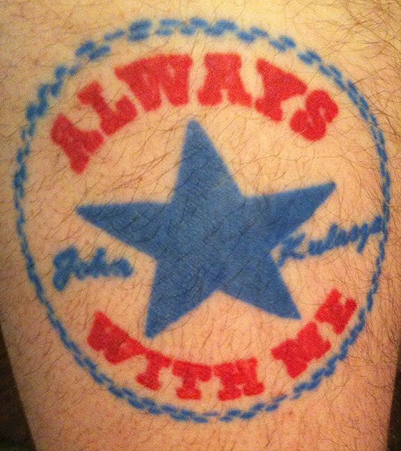 Tyler Kulasza tattoo