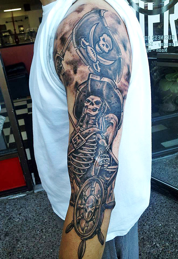 Tampa Bay Buccaneers Tattoo Designs