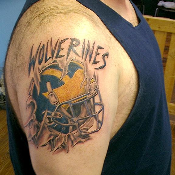 Frank Ward tattoo