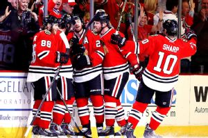 Nick Leddy and Blackhawks