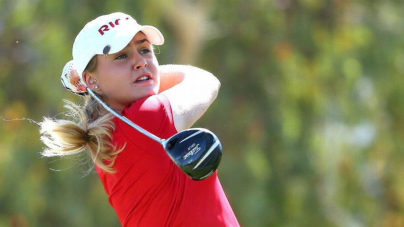 Charley Hull, 18, plays in the U.S. occasionally on sponsor exemptions, but she isn't in a hurry to join the LPGA full time.