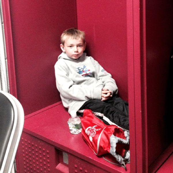Tufts Lacrosse Locker Room