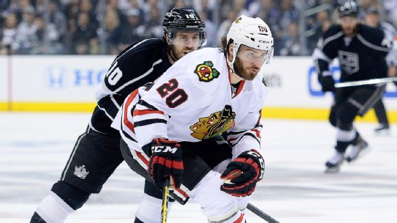 Brandon Saad, Mike Richards