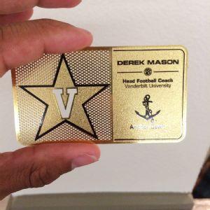 Derek Mason card