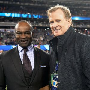 DeMaurice Smith and Roger Goodell
