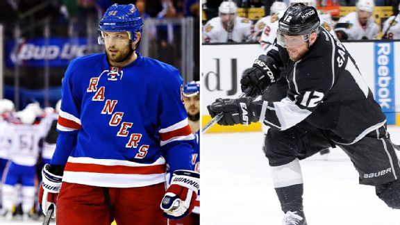Los Angeles Kings vs. New York Rangers