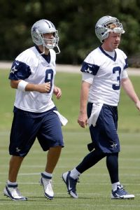 Tony Romo, Brandon Weeden