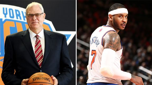 Phil Jackson Carmelo Anthony