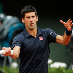 Novak Djokovic handled Milos Raonic's massive serve and now finds himself back in the French Open semis.