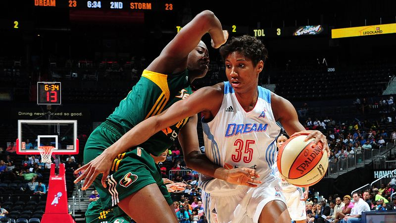 Angel McCoughtry, Atlanta Dream, 6-1, G/F