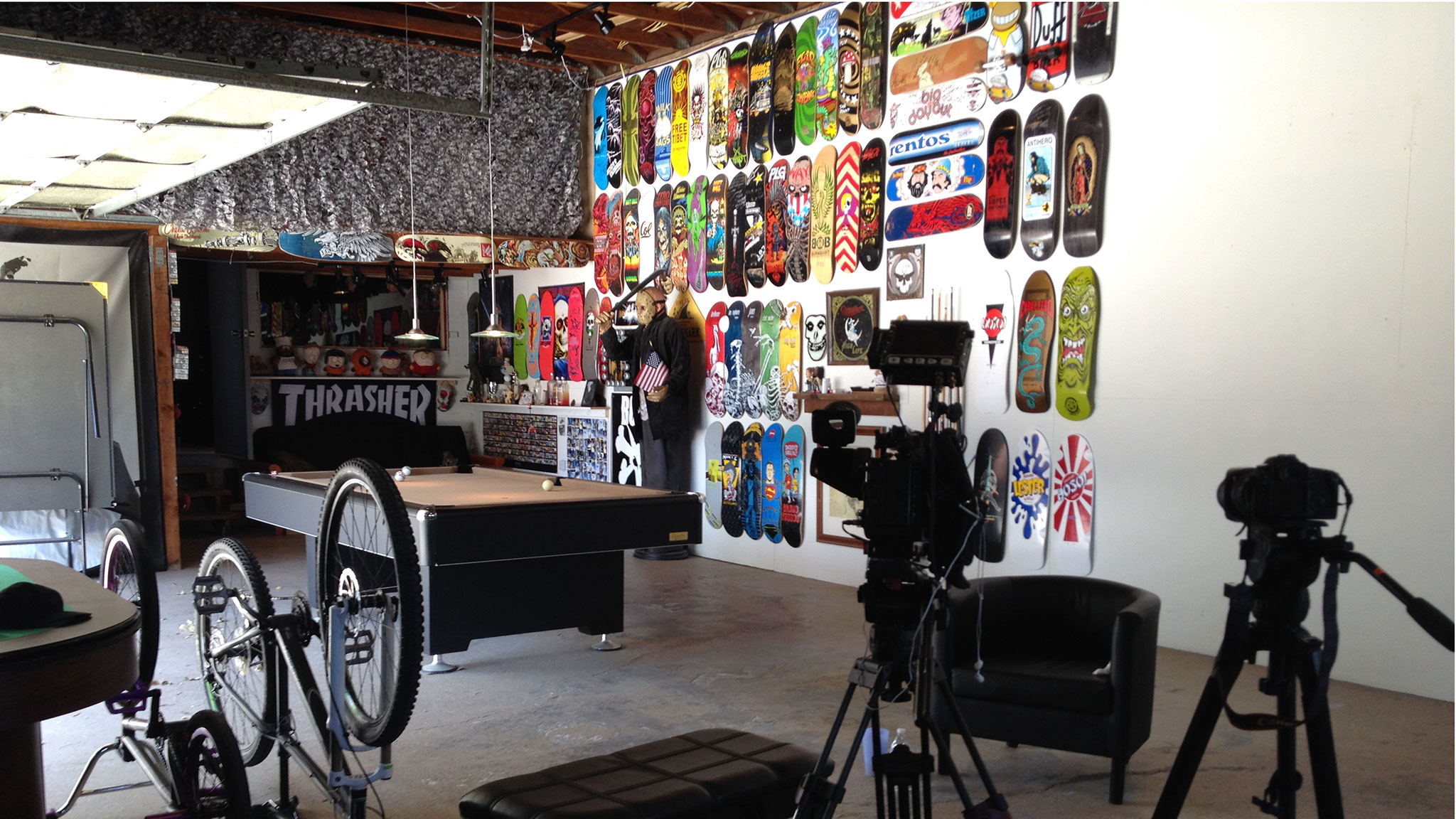 Man Cave Espn : Sloan s man cave gallery the rise of skateboarder