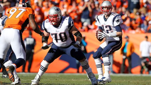 Logan Mankins, Tom Brady