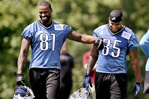 Calvin Johnson and Eric Ebron
