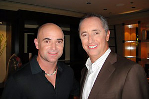 Andre Agassi, Rick Reilly